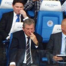 Roy Hodgson staje w obronie Vardy'ego