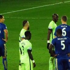 Leicester wygrywa z Manchesterem City, hat-trick Vardy'ego