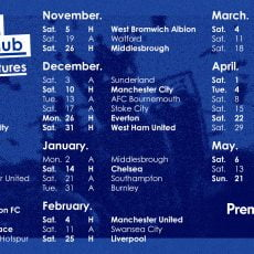 Terminarz Premier League na sezon 2016/2017