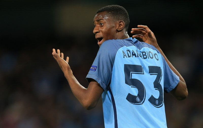 Tosin Aderabioyo Manchester City