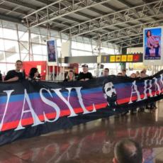 Odwiedziny kibiców Leicester i Anderlechtu u Marcina Wasilewskiego