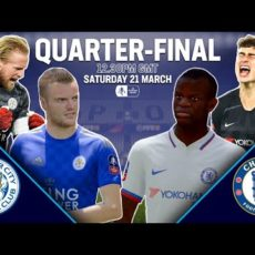 Leicester City vs Chelsea w FA CUP – Symulacja Fifa 2020