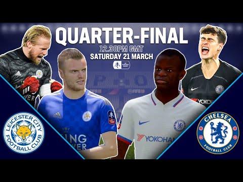 Leicester vs Chelsea FA Cup Fifa 2020