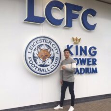 Raul Uche Rubio w Leicester